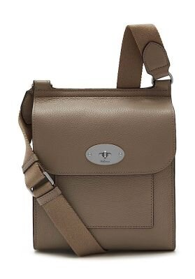 MULBERRY Small Antony Solid Grey