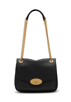 Mulberry taske sort small darley shoulder bag