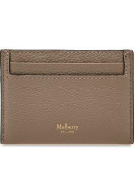 Mulberry kortholder Continental credit card clay