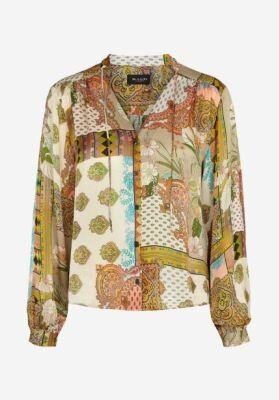 Sand top Cecil pasley v hals multi colour