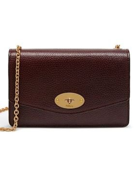 Mulberry taske Small darley bordeaux