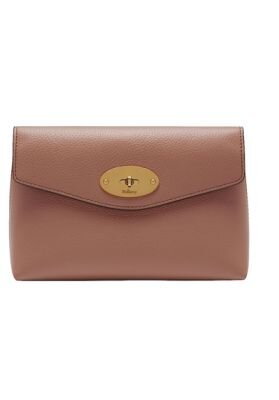Mulberry Darley cosmetic pouch dark blush