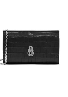 MULBERRY Amberley clutch Sort/Mat croco