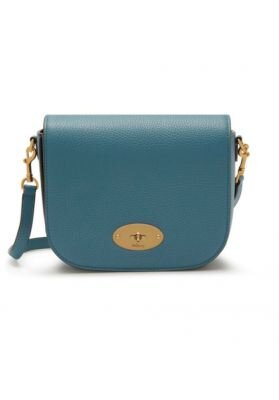 Mulberry Small Darley Satchel Seafoam