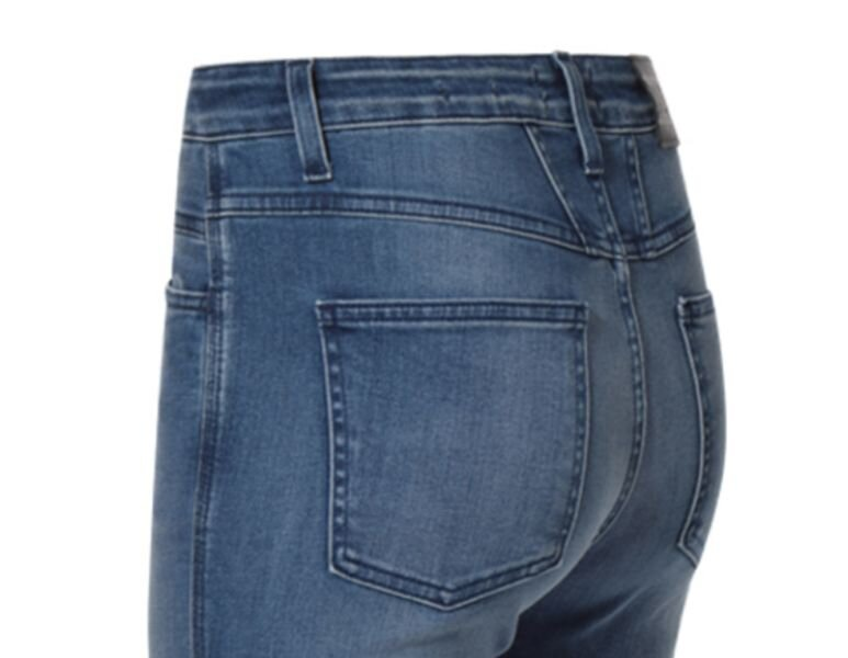 Closed jeans skinny pusher mid blue side