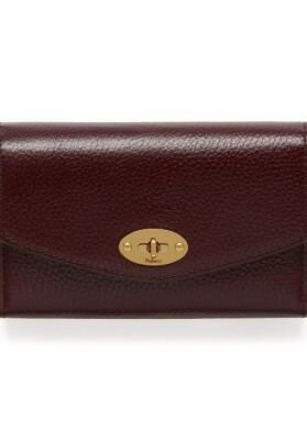 Mulberry pung medium darley wallet oxblood