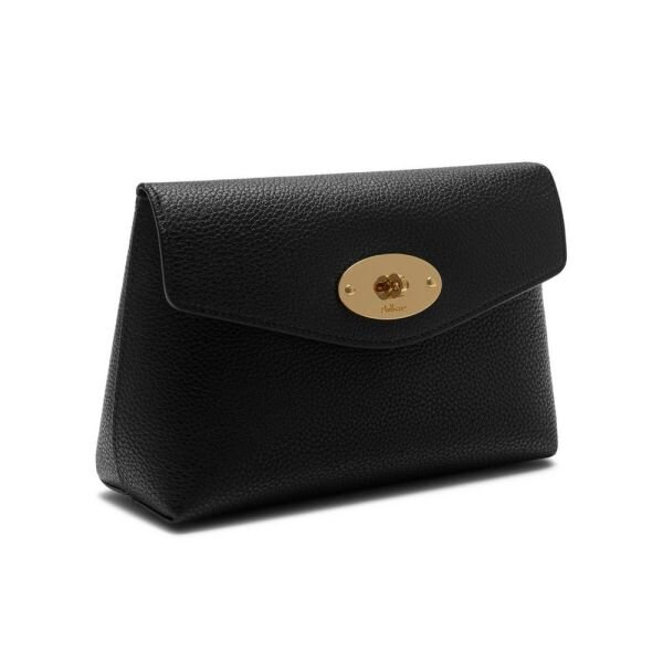 Mulberry Darley cosmetic pouch sort RL5077/205  lås