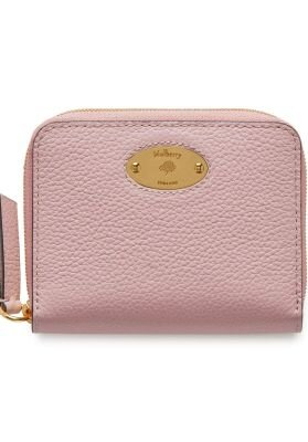 Small zip around plaque powder pink RL5680/013J967 Powder pink