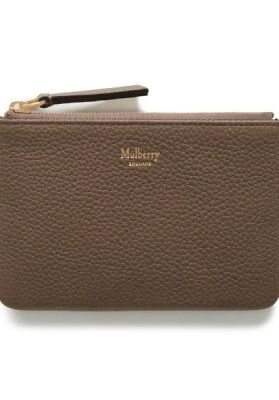 Mulberry pung Zip coin pouch RL4898/205 taupe