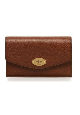 MULBERRY Pung Medium Darley Wallet Oak RL4652