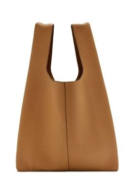 Mulberry Porobello oversized taske Sable lys camel