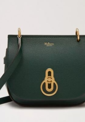 Mulberry taske small Amberley satchel Mulberry green