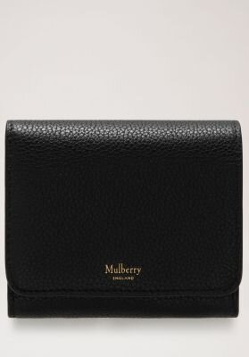 Mulberry pung small continental french purse sort