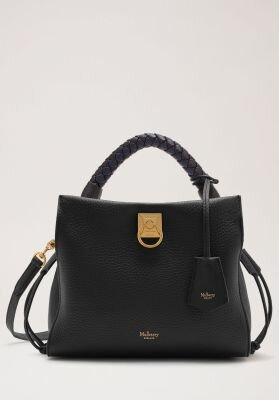 Mulberry taske small Iris heavy grain black