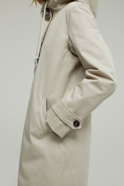 Cotten coat Closed Lalo sand  to lommer