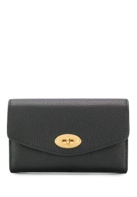 Mulberry pung medium darley wallet grøn