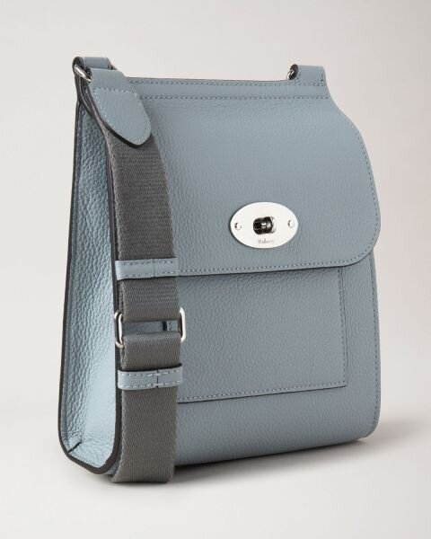 Mulberry taske small Antony cloud blue front
